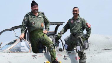 पाकिस्तान के एफ-16 को मार गिराने वाले विंग कमांडर अभिनंदन ने मिग-21 में वायुसेना प्रमुख बी एस धनोआ के साथ भरी उड़ान