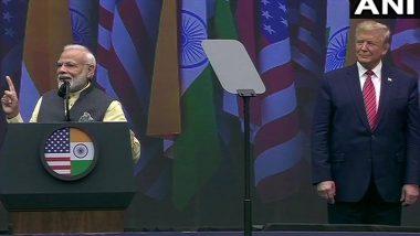 Howdy Modi: पीएम मोदी ने नाम लिए बगैर पाकिस्तान पर साधा निशाना, कहा- आतंक पर निर्णायक लड़ाई का वक्त, डोनाल्ड ट्रंप पूरी तरह साथ