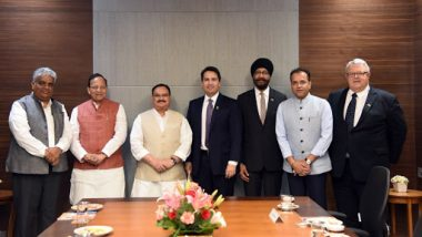 न्यूजीलैंड के शिष्टमंडल ने BJP के कार्यकारी अध्यक्ष जे पी नड्डा से मुलाकात की, दोनों देशों के संबंधों पर हुई चर्चा