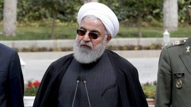 ईरान के राष्ट्रपति हसन रूहानी ने डोनाल्ड ट्रंप पर साधा निशाना, अमेरिकी नीतियों को बताया समस्याओं का कारण