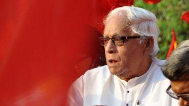 पश्चिम बंगाल के पूर्व मुख्यमंत्री बुद्धदेव भट्टाचार्य को सांस लेने में तकलीफ, अस्पताल में कराया गया भर्ती