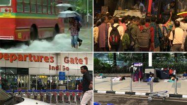 Mumbai Rains: भारी बारिश से मुंबई का हाल बेहाल, मौसम विभाग ने जारी किया ऑरेंज अलर्ट, आज बंद रहेंगे स्कूल और कॉलेज