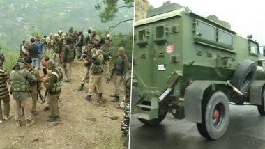 जम्मू-कश्मीर: बटोट-डोडा रोड पर सेना के काफिले पर दो संदिग्धों ने किया हमला, ऑपरेशन जारी