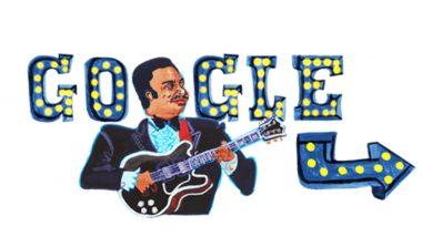 बी. बी. किंग की 94वीं जयंती पर Google ने खास Doodle बनाकर किया याद, जानिए कौन थे B.B. King