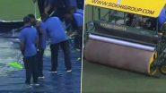 IND vs SA 1st T-20I: धर्मशाला में झमाझम हो रही है बारिश, मैच पर छाया संकट, देखें वीडियो