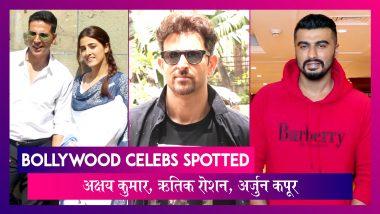 Bollywood Celebs Spotted:Akshay Kumar शूटिंग करते हुए स्पॉट, Hrithik Roshan ने किया War का प्रमोशन