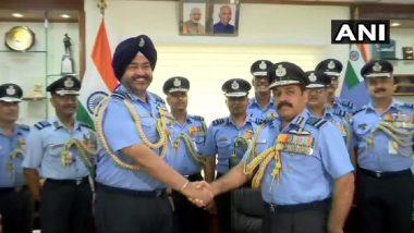 एयर मार्शल राकेश कुमार सिंह भदौरिया बने Indian Air Force के चीफ, बीएस धनोआ हुए रिटायर