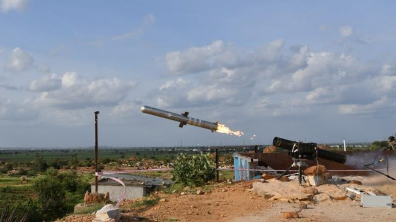 पोर्टेबल एंटी टैंक गाइडेड मिसाइल से होगा देश के दुश्मनों का पलभर में सफाया, DRDO ने जारी किया वीडियो