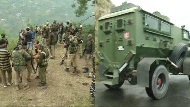 जम्मू-कश्मीर के रामबन जिले में सेना और संदिग्ध आतंकवादियों के बीच हुई गोलीबारी, तलाश अभियान जारी