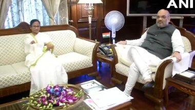 अमित शाह से मिली ममता बनर्जी, बोली 'पश्चिम बंगाल में NRC की कोई जरूरत नहीं, सौंपी चिट्ठी'