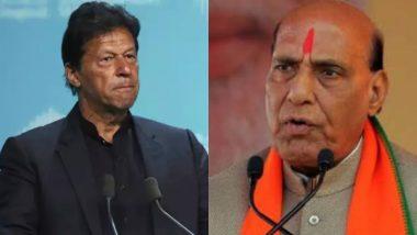 जम्मू-कश्मीर:रक्षा मंत्री राजनाथ सिंह ने कहा- पाकिस्तान के पीएम इमरान खान दुनिया में हर दरवाजा खटखटाकर उड़वा रहे हैं अपना मजाक
