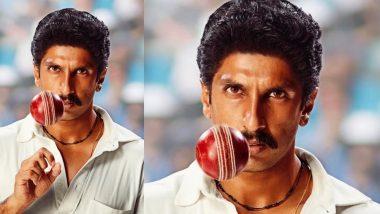 मुंबई में जल्द शुरू होगी रणवीर सिंह स्टारर फिल्म '83' की शूटिंग