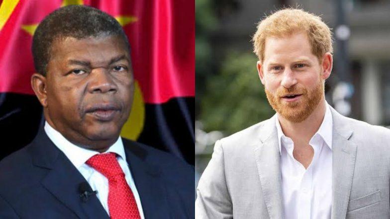 ब्रिटेन के प्रिंस हैरी ने अंगोला के राष्ट्रपति जोआओ लौरेंको से की मुलाकात, माइनफील्ड का किया दौरा