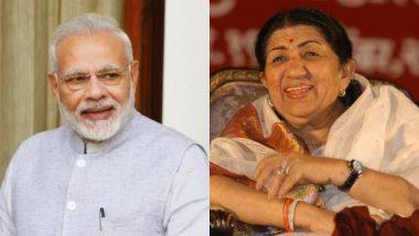 स्वर कोकिला लता मंगेशकर ने की पीएम नरेंद्र मोदी की तारीफ, कहा- आपके आने से भारत की बदली छवि