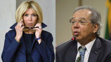 ब्राजील के वित्त मंत्री पाउलो ग्वेदेस ने फ्रांस की प्रथम महिला ब्रिगिट मैक्रों को कहा 'कुरूप'