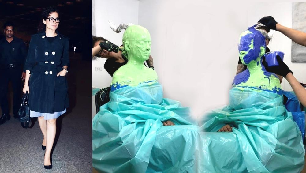 फिल्म 'थलाइवी' के लिए कंगना रनौत ने दिया प्रोस्थेटिक माप, तस्वीरें देख उड़ जाएंगे होश
