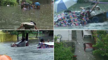 बिहार में भारी बारिश से जनजीवन अस्त-व्यस्त, कई जगह 8 फीट तक जलजमाव, CM ने कहा- मदद के लिए प्रयास जारी