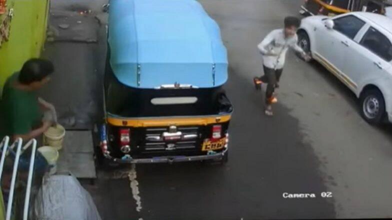 नवी मुंबई में प्रशासन की बड़ी लापरवाही, खुले बिजली के वायर में आग लगने से बच्चा घायल, देखें वीडियो