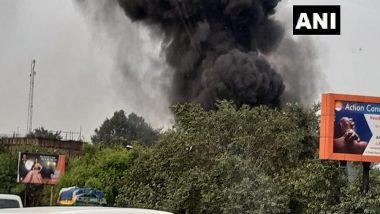 दिल्ली: पंजाबी बाग के गोदाम में लगी भीषण आग, दमकल की 22 गाड़ियां मौके पर पहुंची