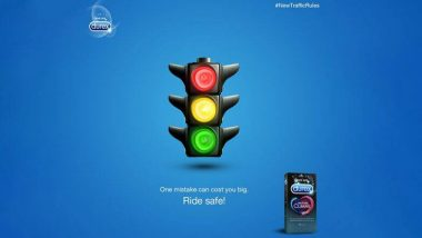 Durex Condom India ने नए ट्रैफिक नियमों का किया समर्थन, कंडोम के अनोखे विज्ञापन के जरिए दी लोगों को सुरक्षित वाहन चलाने की सलाह