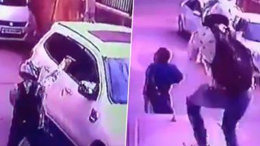 दिल्ली: बेखौफ बदमाशों ने द्वारका में प्रॉपर्टी डीलर को दिनदहाड़े गोलियों से भून डाला, देखें दिल दहला देने वाला Video