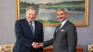भारतीय विदेश मंत्री जयशंकर ने फिनलैंड प्रधानमंत्री एंटी रिने से की मुलाकात, आतंकवाद के मुद्दे पर हुई लंबी चर्चा