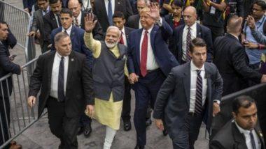 पीएम नरेंद्र मोदी ने 'हाउडी मोदी' कार्यक्रम डोनाल्ड ट्रंप की उम्मीदवारी पर लगाया नारा, कहा 'अबकी बार, ट्रंप सरकार'