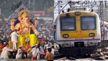 Ganpati Visarjan 2019: गणपति विसर्जन के लिए वेस्टर्न रेलवे तैयार, भक्तों के लिए चलाएगी 8 विशेष लोकल गाड़ियां