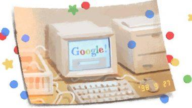 Google का 21वां जन्मदिन आज, खास Doodle बनाकर किया सेलिब्रेट, साल 1998 में हुआ था शुरू