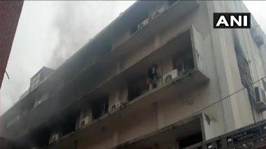 गुजरात: वडोदरा के एसएसजी अस्पताल के पीडियाट्रिक वार्ड में लगी आग, कोई हताहत नहीं
