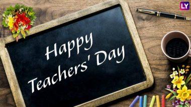 Teachers' Day 2019: शिक्षक दिवस पर अपने टीचर के लिए दें ओजपूर्ण भाषण, खास अंदाज में करें उनका अभिवादन