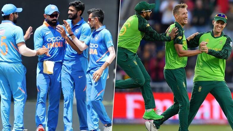 Live Cricket Streaming and Score India vs South Africa 1st T-20I: भारत बनाम दक्षिण अफ्रीका 2019 के पहले T20 मैच को आप Hotstar और  DD Sports पर देख सकते हैं लाइव