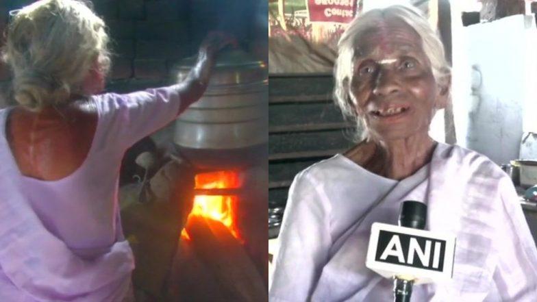 तमिलनाडु: 1 रुपए में इडली बेचनेवाली 82 वर्षीय महिला को अब नहीं फूंकना पड़ेगा चूल्हा, सरकार ने दिया LPG कनेक्शन
