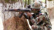 जम्मू-कश्मीर के अनंतनाग में सुरक्षाबलों ने 2 से 3 आतंकियों को घेरा, मुठभेड़ जारी