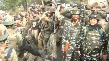 जम्मू-कश्मीर के रामबन में भारतीय सेना के ऑपरेशन में 3 आतंकी ढेर, जवानों ने लगाए 'भारत माता की जय के नारे', देखें जश्न का वीडियो