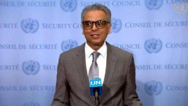 संयुक्त राष्ट्र में अफगानिस्तान के बहाने भारत ने पाक पर किया हमला, सैयद अकबरुद्दीन बोले- अफगान बॉर्डर के करीब पनप रहे हैं आतंकी
