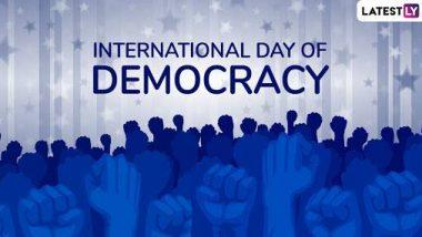 International Democracy Day 2019: लोकतंत्र के जश्न का पर्व है अंतर्राष्ट्रीय लोकतंत्र दिवस, जानिए इसका इतिहास और महत्व