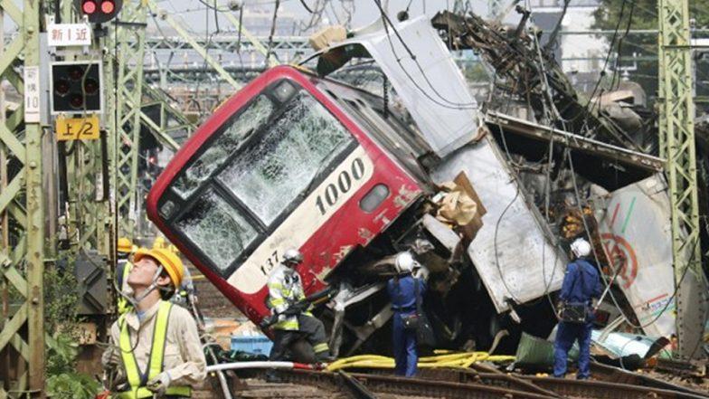 जापान में ट्रेन और ट्रक की जोरदार भिडंत, 1 की मौत- 30 से अधिक घायल; देखें Video