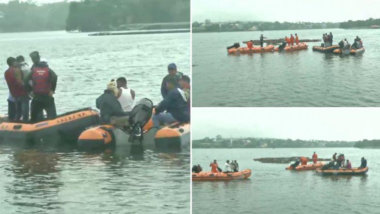 भोपाल: गणेश विसर्जन के दौरान बड़ा हादसा, नाव पलटने से 11 लोगों की मौत- पांच को बचाया गया