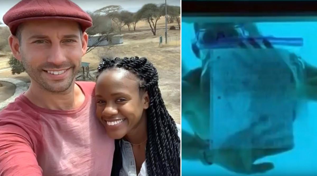 पानी के अंदर सांस रोक कर शख्स गर्लफ्रेंड कर रहा था प्रपोज, उसके बाद जो हुआ...देखें वायरल वीडियो