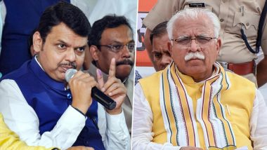 विधानसभा चुनाव 2019: महाराष्ट्र-हरियाणा में 21 अक्टूबर डाले जाएंगे वोट, जानें दोनों राज्यों से जुड़े अहम आंकड़े
