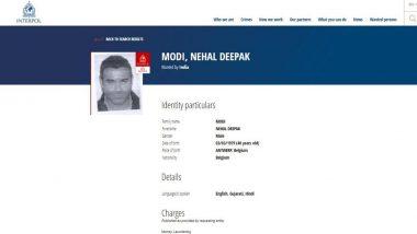 नीरव मोदी के भाई नेहल दीपक मोदी के खिलाफ इंटरपोल ने जारी किया रेड कॉर्नर नोटिस