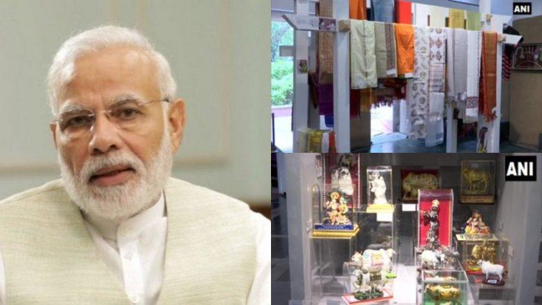 प्रधानमंत्री मोदी को मिले 2,772 उपहारों की नीलामी शुरू, 'नमामि गंगे' परियोजना के लिए खर्च की जाएगी इससे मिलने वाली धनराशि