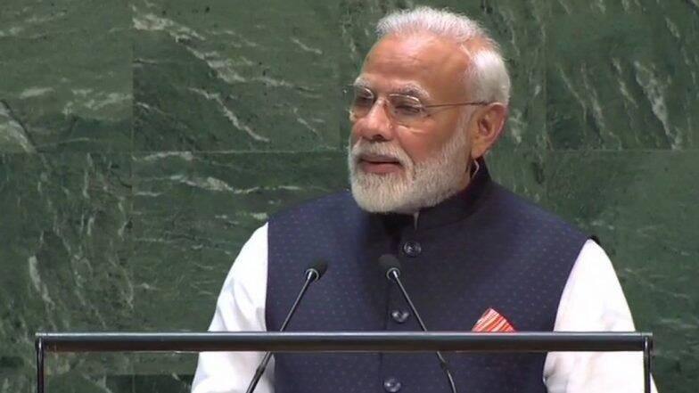 प्रधानमंत्री मोदी का पाकिस्तान को कड़ा संदेश, UNGA में बोले 'हमारी आवाज में आतंक के खिलाफ सतर्क करने की गंभीरता और आक्रोश दोनों'