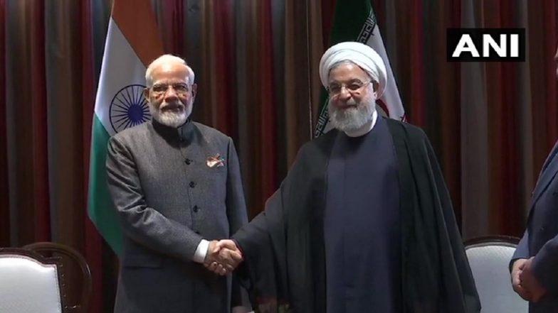 पीएम मोदी और ईरान के राष्ट्रपति हसन रूहानी के बीच न्यूयॉर्क में हुई मुलाकात, कई अहम मुद्दों पर की चर्चा