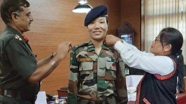 अरुणाचल प्रदेश: मेजर डोमिंग ने रचा इतिहास, भारतीय सेना में बनेंगी लेफ्टिनेंट कर्नल-CM पेमा खांडू दी बधाई