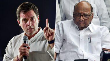 शरद पवार के समर्थन में उतरे राहुल गांधी, महाराष्ट्र चुनाव से पहले ED की कार्रवाई को बताया 'राजनीतिक अवसरवाद'
