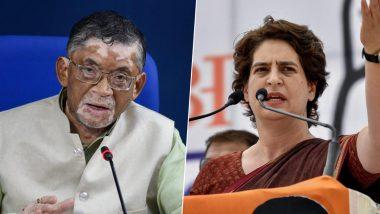 केंद्रीय मंत्री संतोष गंगवार के नौकरी वाले बयान पर प्रियंका गांधी का पलटवार, कहा-उत्तर भारतीयों का अपमान कर बच नहीं सकते
