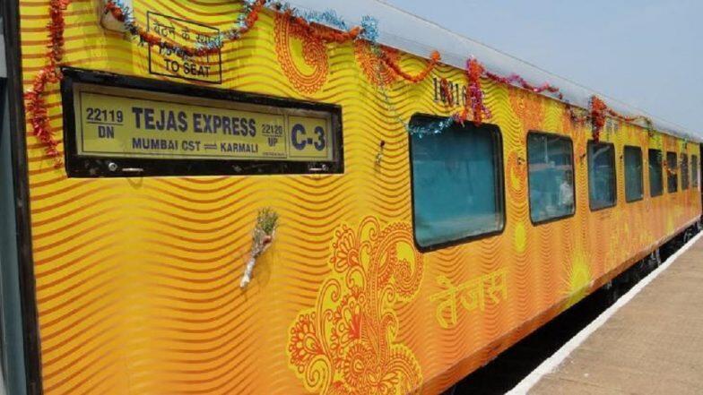 तेजस एक्सप्रेस बनी पहली ट्रेन जो देरी से चलने पर देगी यात्रियों को मुआवजा, पैसेंजर्स से अनोखे अंदाज में मांगी माफी