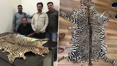 मध्यप्रदेश: एसटीएफ की टीम ने अंतरराष्ट्रीय बाजार में तेंदुए की खाल की तस्करी के आरोप में एक शख्स को गिरफ्तार किया